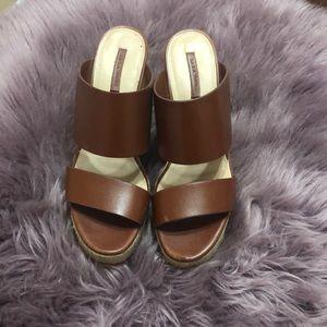 Zara Wedge Slide Sandals